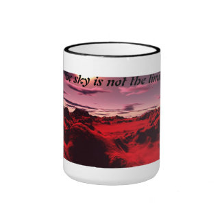 the sky IS not the limit Ringer Coffee Mug