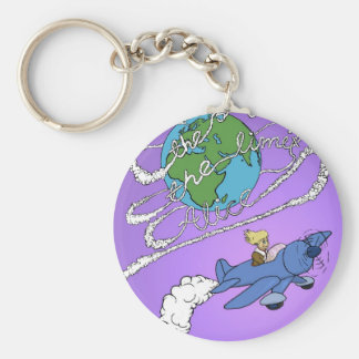 the sky is the limit alice.jpg keychains