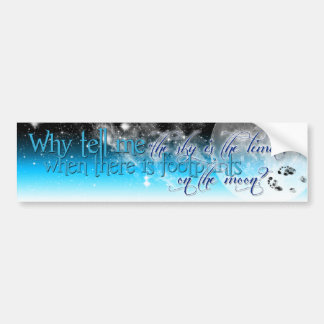 The Sky Is The Limit Bumper Sticker