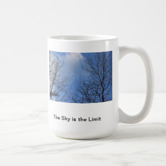 The Sky is the Limit Classic White Coffee Mug