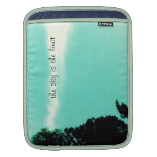 the sky is the limit iPad sleeve