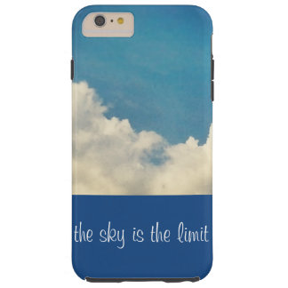 The sky is the limit iphone 6 case