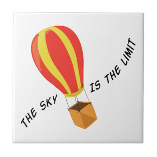 The Sky Is The Limit Ceramic Tiles