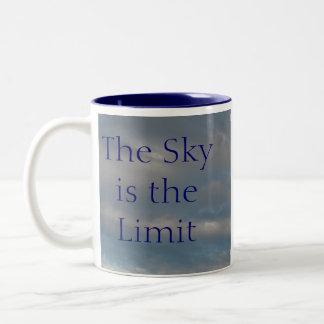 The Sky is the Limit Two-Tone Coffee Mug