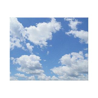 The sky on canvas