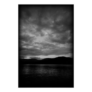 The Sky over Windermere Poster