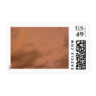 The sky postage stamps