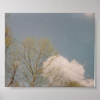 The sky. print
