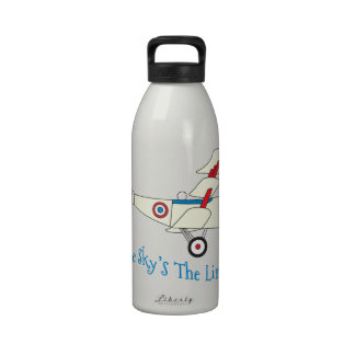 The Sky s The Limit Reusable Water Bottles