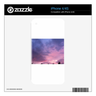 The Sky Skins For iPhone 4