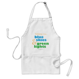 The Skydivers Wish Adult Apron