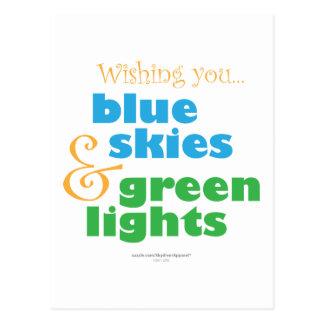 The Skydivers Wish Postcard