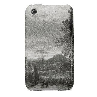The Skylark (etching) Case-Mate iPhone 3 Case