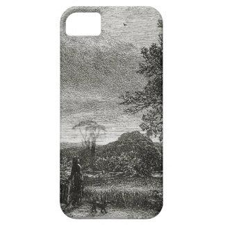 The Skylark (etching) iPhone SE/5/5s Case