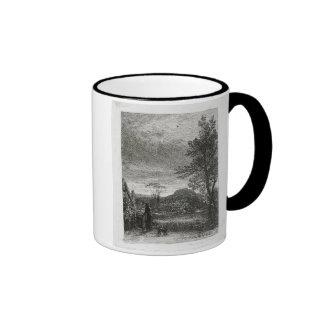 The Skylark (etching) Ringer Coffee Mug
