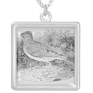 The Skylark Square Pendant Necklace