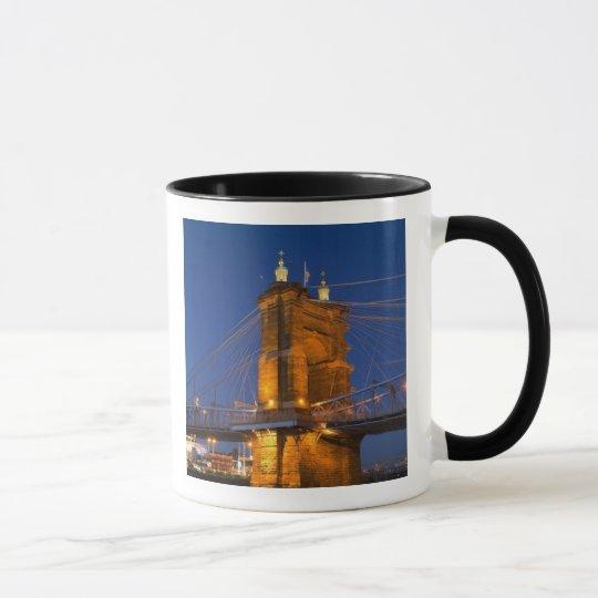 The skyline of Cincinnati, Ohio, USA at dusk Mug