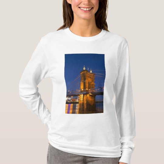 The skyline of Cincinnati, Ohio, USA at dusk T-Shirt
