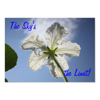 The Sky's the Limit! Card