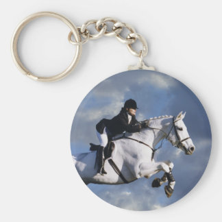 The Sky's The Limit Basic Round Button Keychain