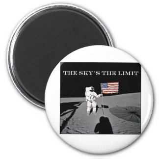 The Sky's the Limit Magnet