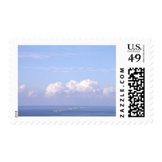 """The Sky's the Limit"" Postage Stamp"