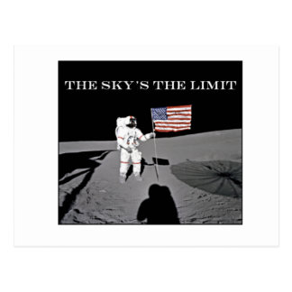 The Sky's the Limit Postcard