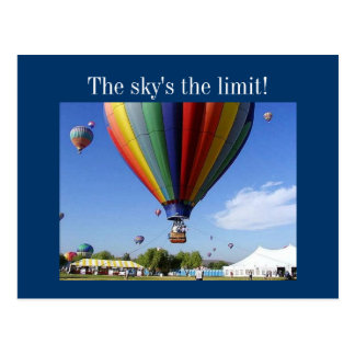 The Sky's the Limit! Post Cards