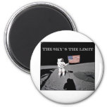 The Sky's the Limit Refrigerator Magnets