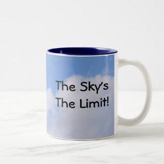 The Sky's The Limit! Two-Tone Coffee Mug