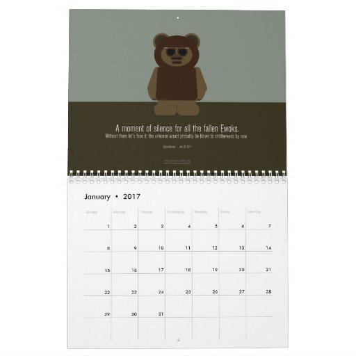 The Slackluster 2012 Twitter Calendar