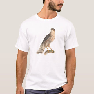 The Slate-colored Hawk	(Astur fuscus) T-Shirt