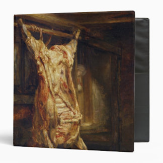 The Slaughtered Ox, 1655 3 Ring Binder