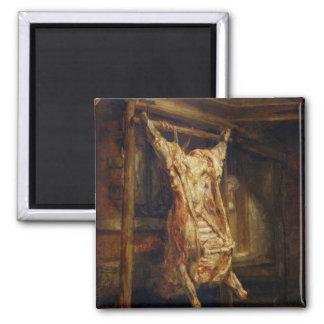 The Slaughtered Ox, 1655 Fridge Magnet