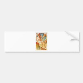 The Slav Epic by Alphonse Mucha Bumper Sticker