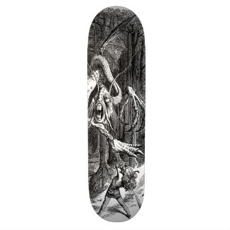 The Slaying of The Jabberwock Skateboard