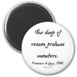 The Sleep of Reason 2 Inch Round Magnet