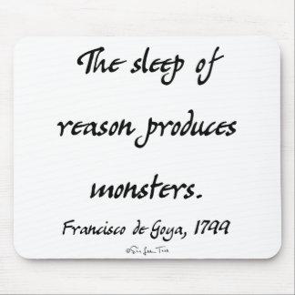 The Sleep of Reason Mouse Pad