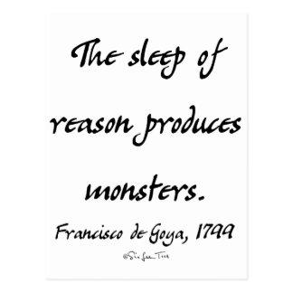 The Sleep of Reason Postcard