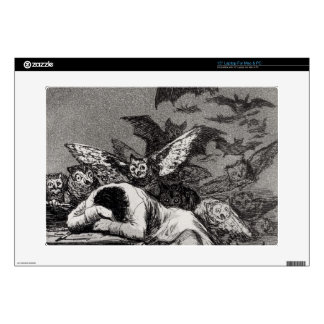 """The Sleep of Reason Produces Monsters 15"""" Laptop Decal"""