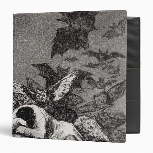 The Sleep of Reason Produces Monsters Vinyl Binders