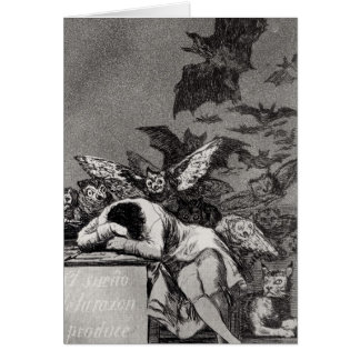 The Sleep of Reason Produces Monsters Card