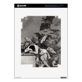 The Sleep of Reason Produces Monsters Decal For iPad 3