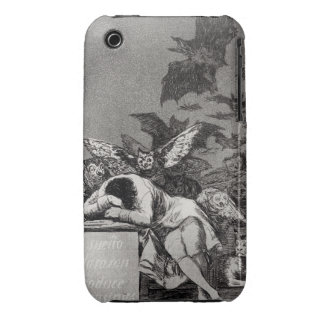 The Sleep of Reason Produces Monsters iPhone 3 Case-Mate Cases