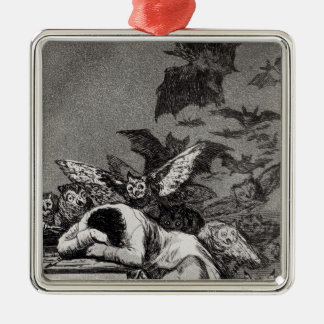 The Sleep of Reason Produces Monsters Metal Ornament