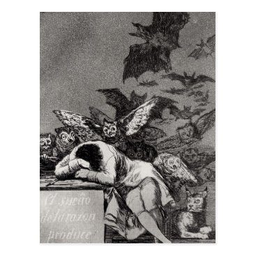 bridgemanimages The Sleep of Reason Produces Monsters Postcard