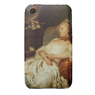The Sleeper, 1759 (oil on canvas) iPhone 3 Case-Mate Case