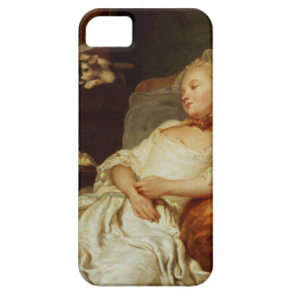 The Sleeper, 1759 (oil on canvas) iPhone SE/5/5s Case