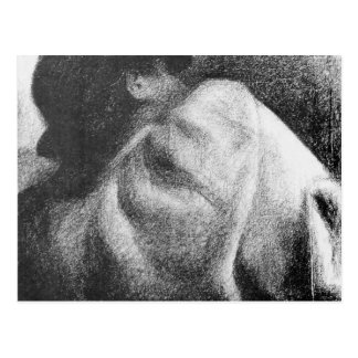 The Sleeper by Georges Seurat Postcard