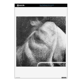 The Sleeper by Georges Seurat Skin For PS3 Slim